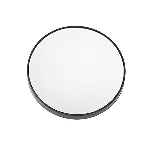3.5 pulgadas 15X espejo de maquillaje con aumento pequeño espejo de aumento redondo para maquillaje preciso con ventosas