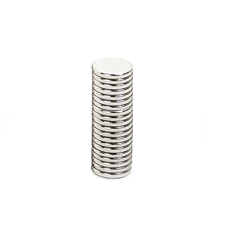 Oblique Unique 20 Mini Magnete, ultrastark - 7x1mm - NEODYM - Das Original