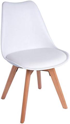 Sillas de escritorio con patas madera