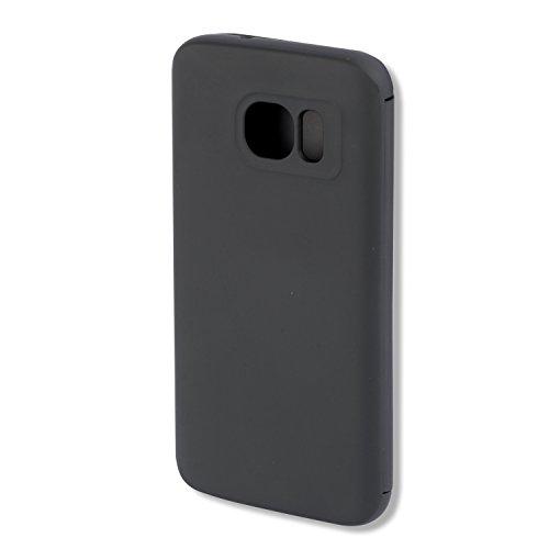 4smarts Kyoto Always-On Book Flip Schutzhülle für Samsung Galaxy S7 klar/schwarz