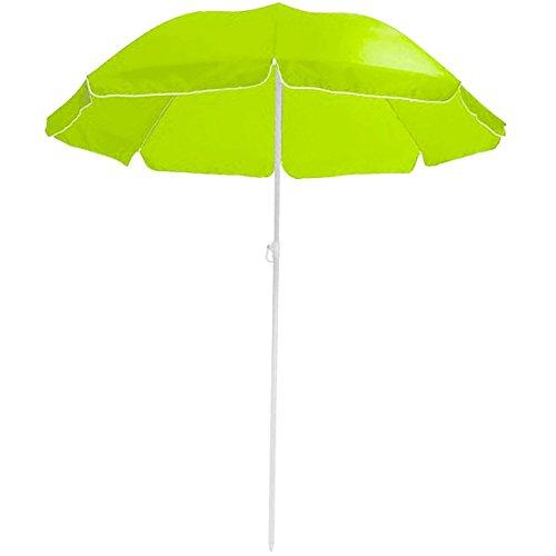 Promobo–Ombrellone da Spiaggia Sole Pieghevole Diametro 180cm Verde