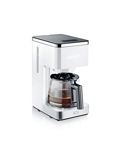 Graef FK401EU Filterkaffeemaschine, 1000, weiß