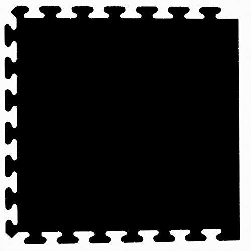 "Mats, Inc. iFlex Interlocking Recreational Floor Tiles, 24"" x 24"" Side - Black - 4 pk"