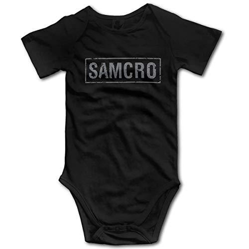 Hijos de la anarquía Samcro Boy Girl Baby Onesies Body de bebé Unisex Body de bebé Onesie Cómodo niño pequeño