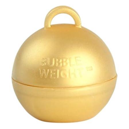 FOIL BALLOON WEIGHT 160 GRAMS GOLD EACH