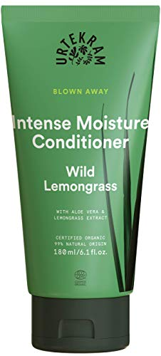 Urtekram - Blown Away - Wild Lemongrass - Acondicionador Hidratación Intensa 180 ml - Ecológico