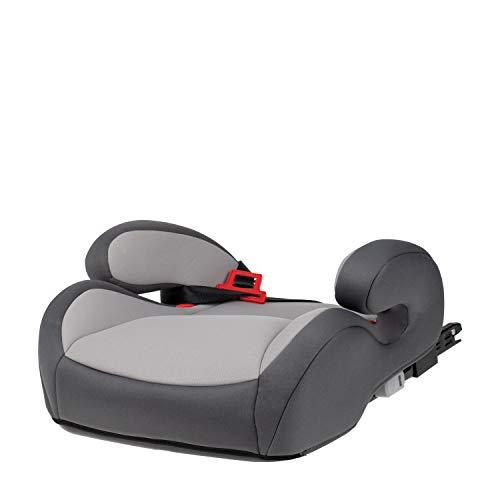 capsula® Sitzerhöhung mit Isofix Autokindersitz Gruppe 3 Kindersitzerhöhung mit Gurtführung 22 bis 36 kg (grau)
