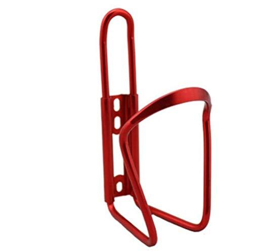 Ligero y fuerte Aleación de aluminio de la bici de la bicicleta beber agua titular de la botella de montaje en bastidor de bicicletas plegables for Jaula Accesorios MTB Accesorios para bicicletas