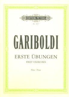 DIE ERSTEN UEBUNGEN - arrangiert für Querflöte [Noten / Sheetmusic] Komponist: GARIBOLDI GIUSEPPE