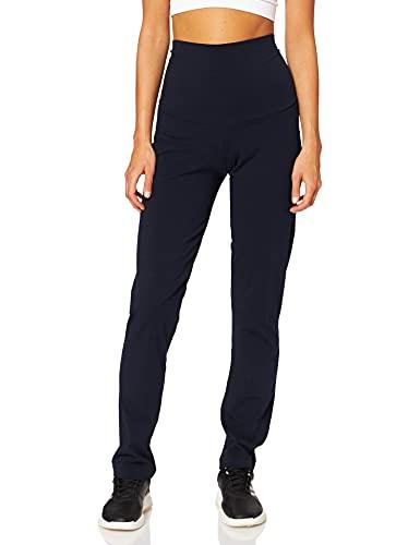 Noppies Pants OTB Charlie Solid, Pantaloni Pigiama Premaman Donna, Blu (Night Sky P277), 46 (Taglia Produttore: Large)