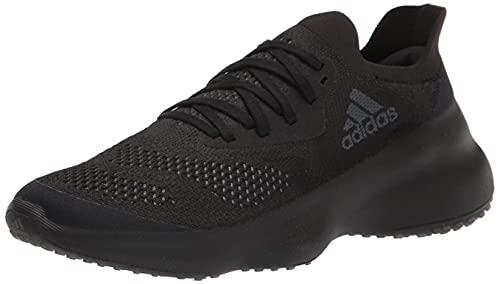 adidas Women's Futurenatural Running Shoe, Black/Grey/Black, 10