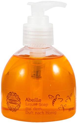 20x UMIDO Flüssigseife Spender 150 ml Honig | Handseife für Pflege & Hygiene | Händewaschen | Seife aus dem Pumpspender | Pflegeseife | Körperpflege