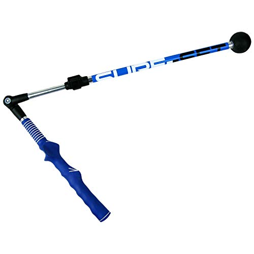 Sure-Set Golf Swing Trainer Aid (Right-Handed)– Adjustable, Portable Golf Training Aid to Improve Hinge, Forearm Rotation, Shoulder Turn – Lightweight, Durable Golf Trainer with Ergonomic Grip