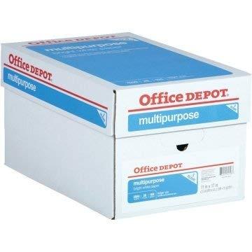 11inchx 17inch Office Depot Multipurpose Copy/Ledger Paper - Case of 5 Reams