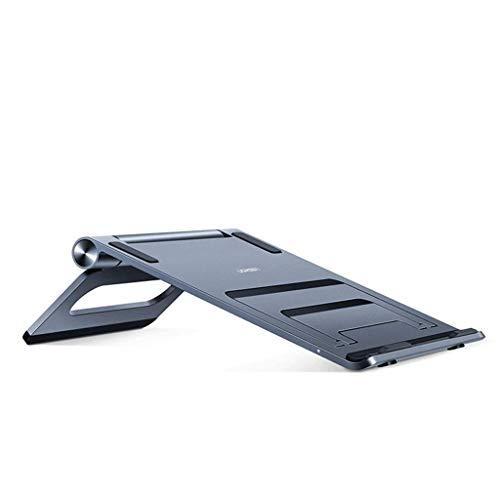 N /A QJYNS Laptopständer Tablet Faltbarer tragbarer belüfteter Desktop Laptophalter Kühlständer Kompatibel mit Dell XPS HP Lenovo