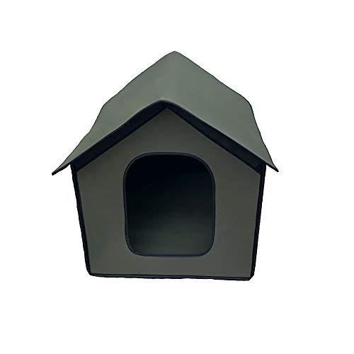 ALLOMN - Caseta impermeable para gato y perro, para gato – Casa para mascotas – Casa para gato – tienda plegable
