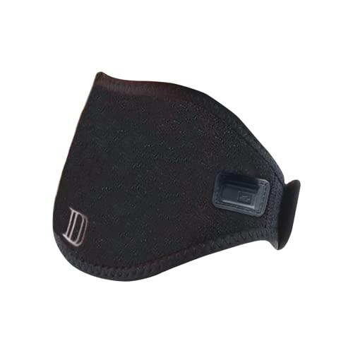 dimpley 首 サポーター USB給電 3段階温度調節 3段階タイマー 首サポーター 軽量 あたため リラックス アイマスク付 日本語説明書付 男女兼用