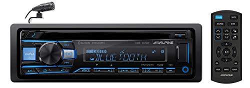 ALPINE CDE-172BT Bluetooth CD Receiver Car Stereo USB/AUX SiriusXM Ready+Remote