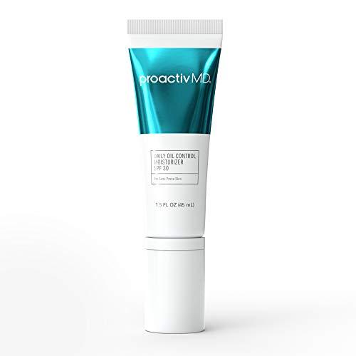 ProactivMD Daily Oil Control Face Moisturizer With Sunscreen SPF 30 - Face Sunscreen For Sensitive Skin, Acne Prone Skin and Hydrating Sun Skin Care, 1.5 oz
