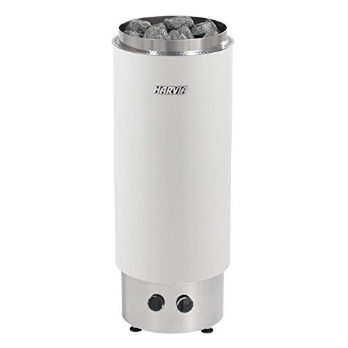 Harvia CILINDRO F saunakachel met geïntegreerde regeleenheid. 9.0 kW wit
