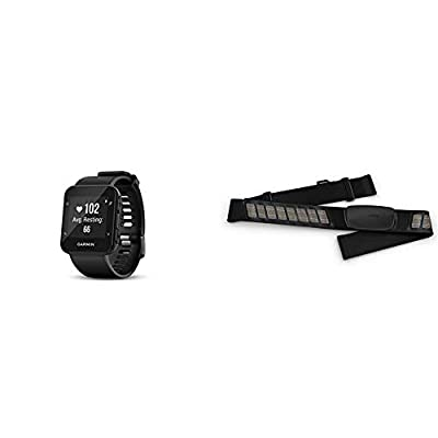 Garmin Forerunner 35; Easy-to-Use GPS Running Watch, Black & HRM-Dual Heart Rate Monitor