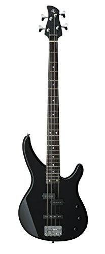 Yamaha 4 String Bass Guitar, Right Handed, Black, 4-String (TRBX174 BL)