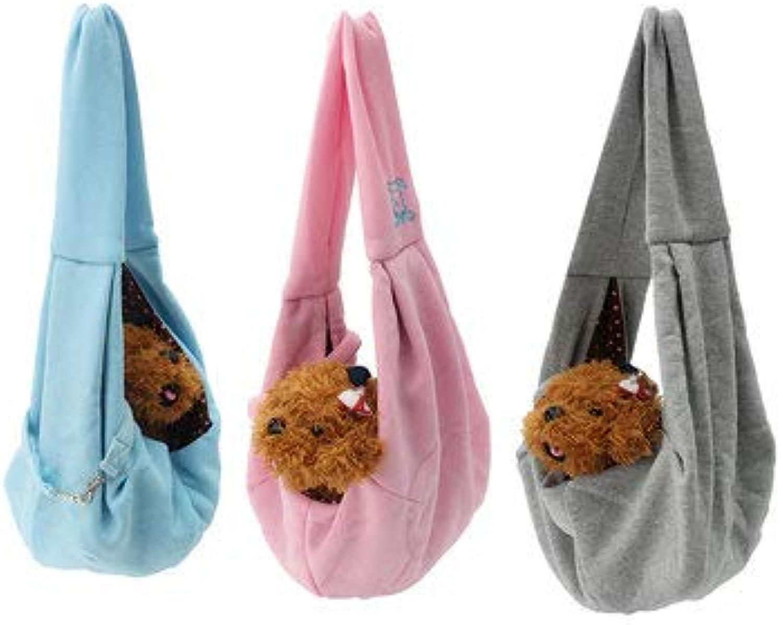Dog Dog Carriers  Reversible Small Dog Cat Sling Carrier Bag Travel Double Sided Shoulder Carry Handbag  Dark Grey 1 x Pet Bag