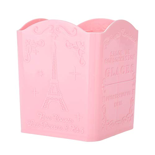 Organisateur cosmétique, porte-stylo, outils de manucure Conteneurs Boîte de rangement Nail Tool Boîte de rangement pour la décoration de bureau de maquillage(Pink)