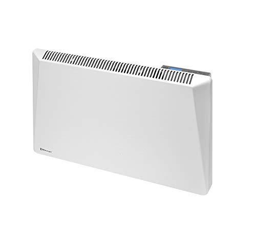 RADIALIGHT®️ Sirio Termoconvettore Elettrico Portatile Basso Consumo Controllo Digitale Temperatura Programmabile Eco Stufa Riscaldatore A Risparmio Energetico Protezione Umidità IP24 1000W