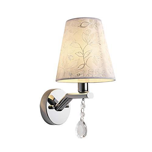 Muur Sconce Lights Wandlamp Doek lampenkap Sconce Licht voor Binnen Slaapkamer Nachtlampje Balkon Verlichting armaturen