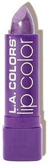 (6 Pack) L.A. COLORS Moisture Rich Lip Color - Grape Crush (並行輸入品)