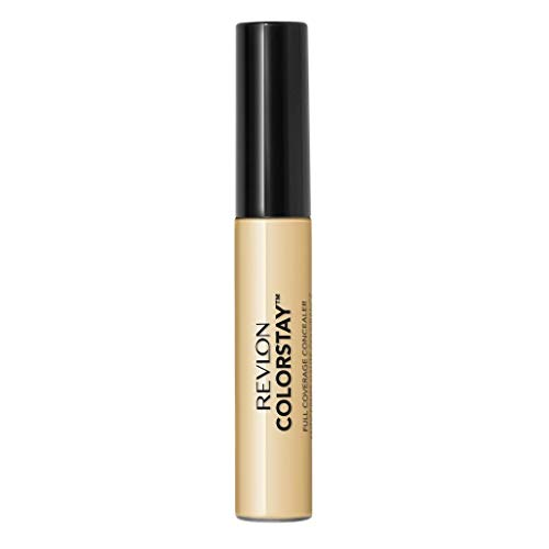 Revlon ColorStay Concealer, Longwearing Full Coverage Color Correcting Makeup, 015 Light, 0.21 oz