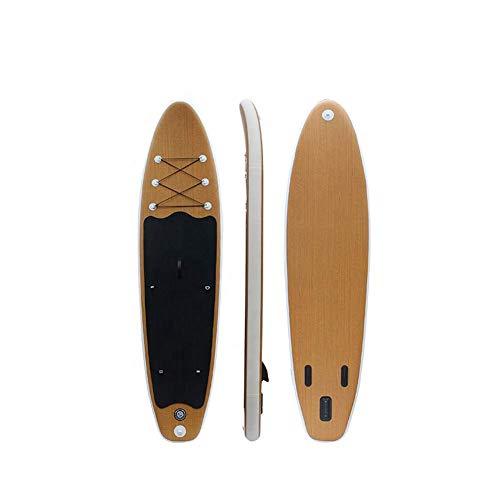 XIUYU All Round große aufblasbare Stand Up Paddle Board Surfboard 10'X6 '' Aufblasbare Surfbrett mit Paddel Schlauchboot Brett Stand Up Paddle Board
