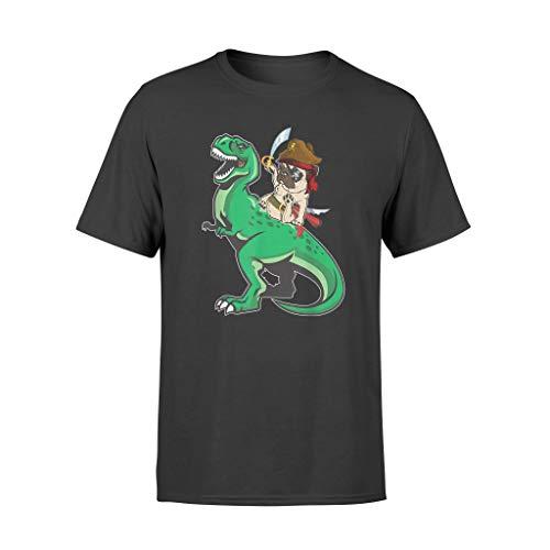 AMIROSSI Camiseta de disfraz de carlino pirata con diseo de dinosaurio T-rex
