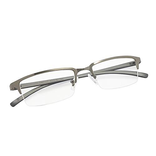 IFHTech Blue Light Blocking Glasses, Anti Eyestrain Eliminate Digital Headache Sleep Better. Men/Women (Gun)