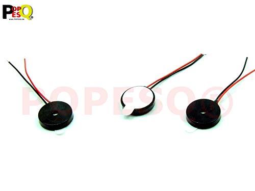 POPESQ/® Signalgeber Schallgeber Buzzer Arduino Raspberry Pi mit Frequenzgenerator #A1373 Piezo