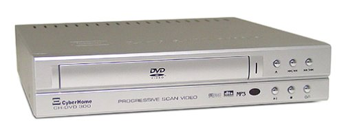 Why Should You Buy CyberHome CH-DVD 300S Progressive-Scan DVD Player , Silver