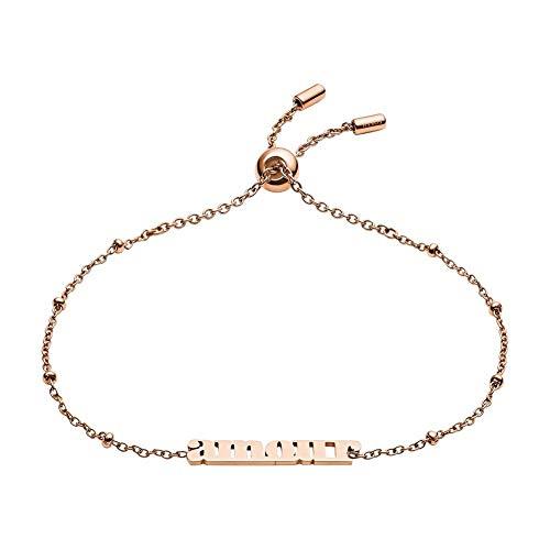 Fossil JF03226791 Damen Armband Amour Grab & go Rose 22 cm