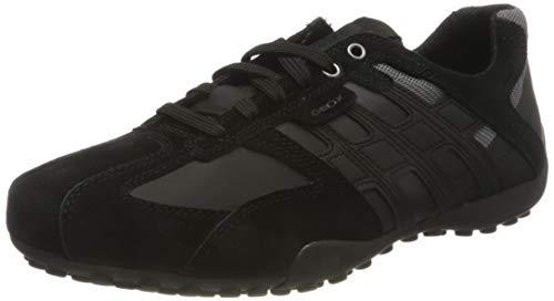 Geox Herren UOMO SNAKE K Sneaker, Schwarz, 44 EU