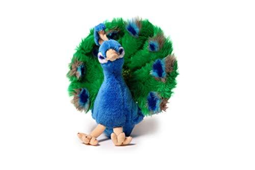Pfau Plüschtier Paradiesvogel Spielzeug, ca. 25 cm