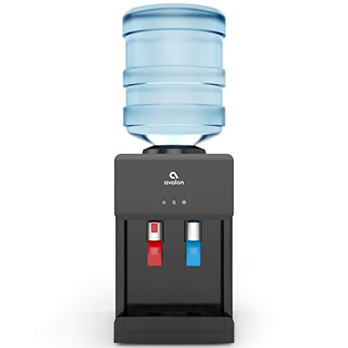 Avalon Premium Hot/Cold Top Loading Countertop Water Cooler Dispenser With Child Safety Lock....