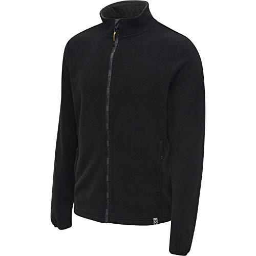 Hummel Herren Fleecejacke North Full Zip 206693 Black/Asphalt S
