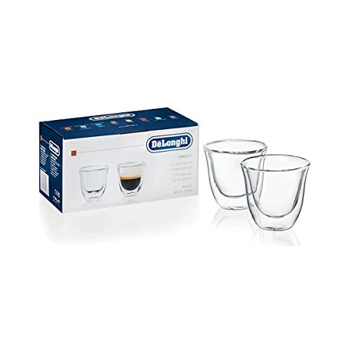 Juego de vasos para espresso Delonghi