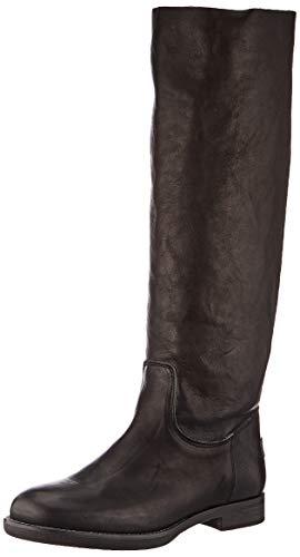 Shabbies Amsterdam Damen CATO Stiefeletten, Schwarz (Black 0028), 38 EU