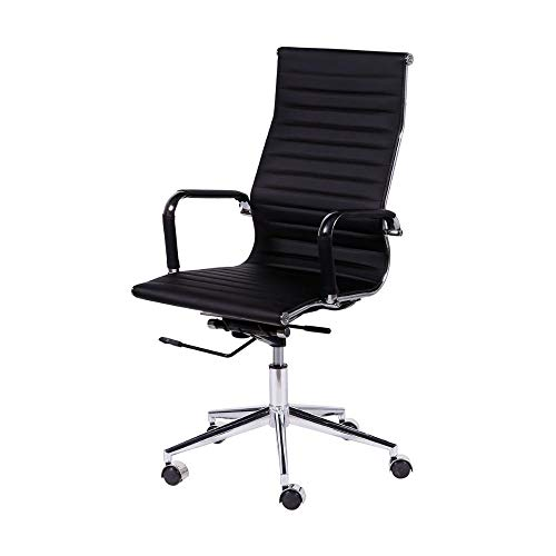 Cadeira Office Eames Esteirinha Alta Giratória - Ór Design