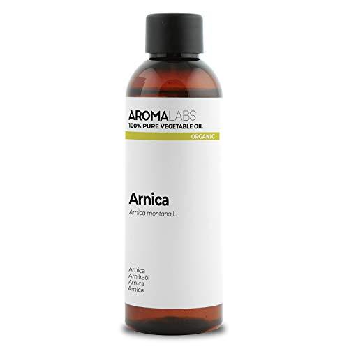 100% BIO - Macérât huileux d'ARNICA - 100mL - Garanti Pur, Naturel, Certifié Biologique - Aroma Labs (Marque Française)