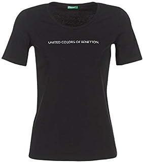 [ユナイテッドカラーズオブ ベネトン] トップス ラメロゴTシャツ?カットソー レディース