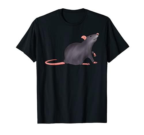 Adorable souris à queue longue pour homme, femme, enfant T-Shirt