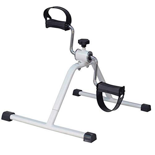 Ejercitador de Pedales portátil Fitness médico Tren de Bicicleta Superior Inferior Piernas, Entrenamiento de Brazos Fisioterapia en el hogar Resistencia Ajustable para el hogar, la Oficina