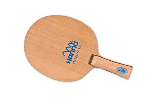 Tischtennis Schläger Holz HANNO Offensive RC - 1 - 7-schichtiger Furnieraufbau Griff anatomisch